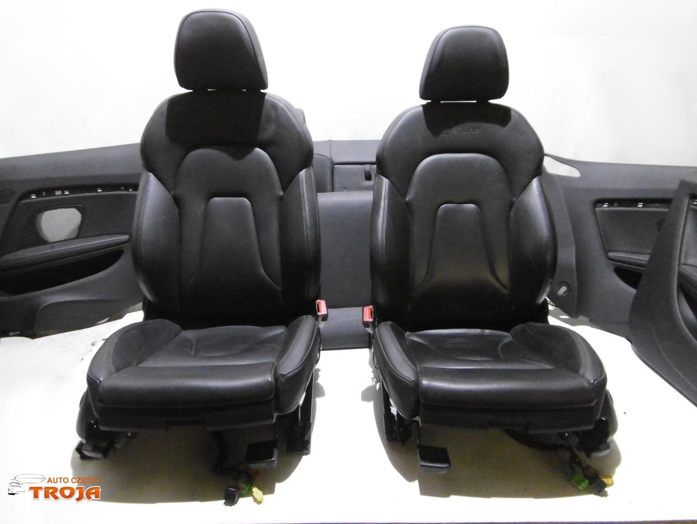 Audi A5 Lift Coupe Fotele S Line Boczki Skóra