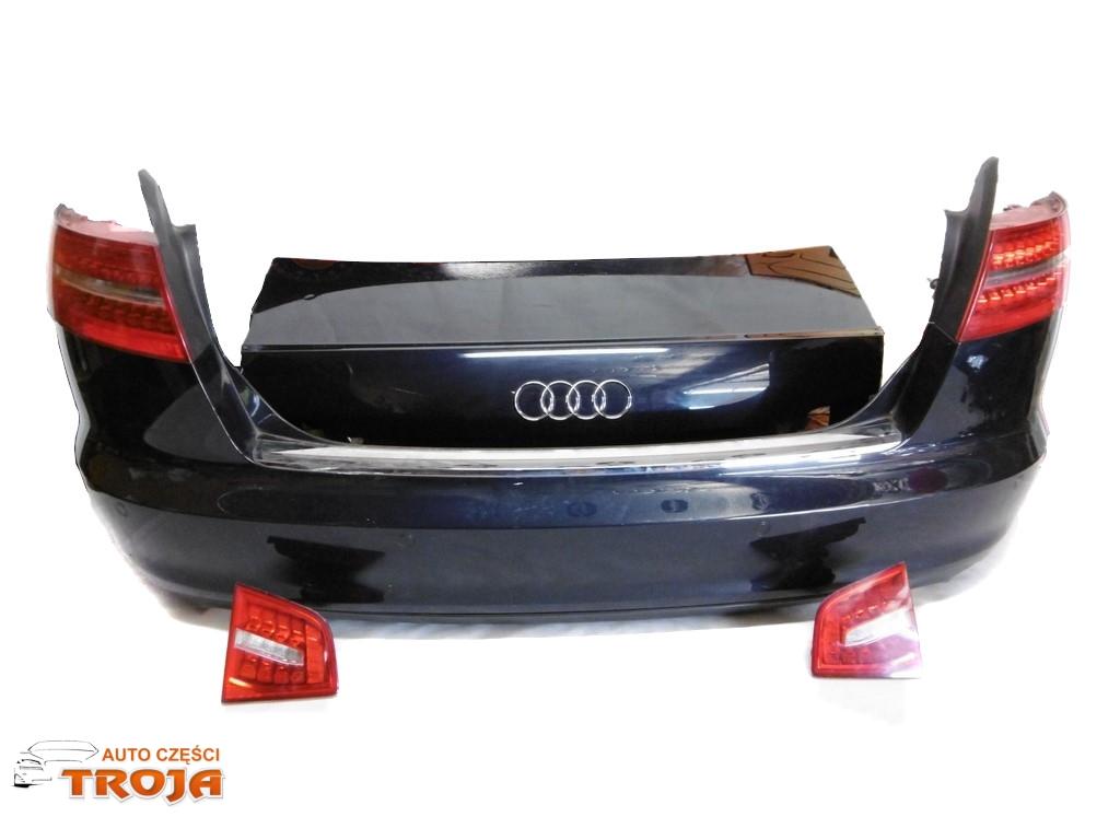 Audi A6 C6 Lift Sedan Zderzak Klapa Lampy Tyl Lz5d